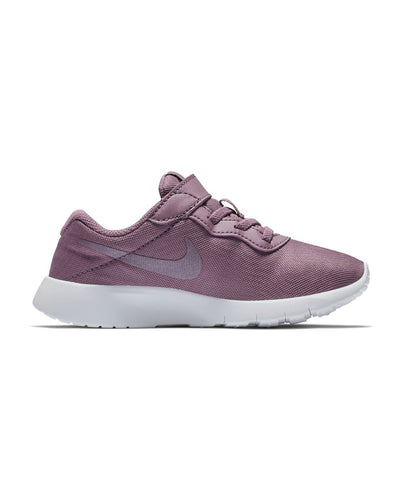 Singapore NIKE Running Shoes Girls Tanjun Pre School Shoes, Violet Dust/White