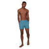 "Men Vintage Leisure 14"" Watershort, True Navy/Blue Bay/White"
