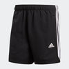 Men Sport Essentials 3-Stripes Chelsea Shorts, Black