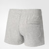 Singapore adidas Women Essentials Solid Short, Grey