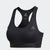Women Don't Rest Alphaskin Padded Sport Bra, Black