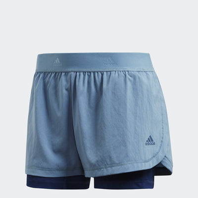 Women 2-In-1 Shorts, Blue