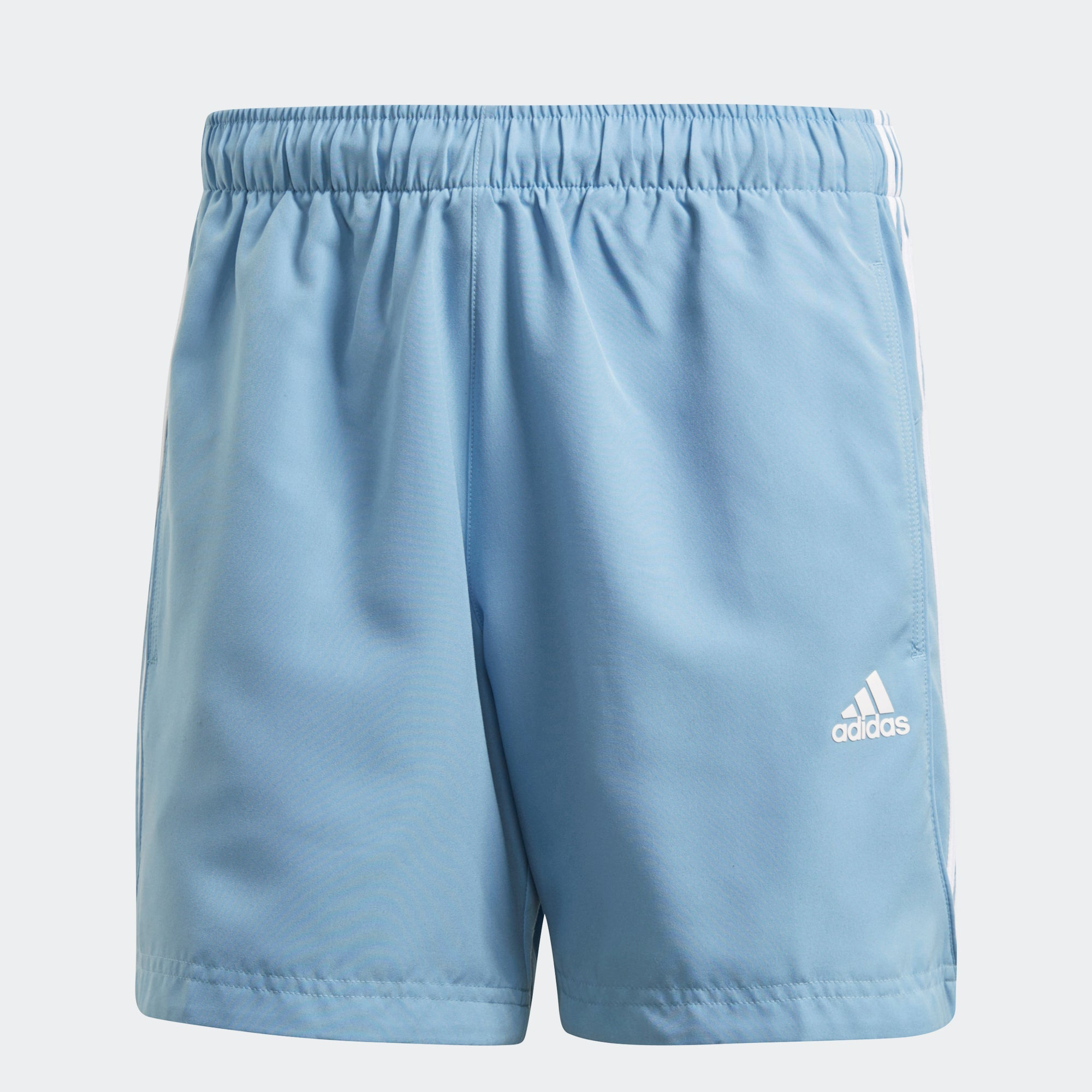 Buy adidas Men Sport Essentials 3 Stripes Chelsea Shorts, Blue Online in Singapore | Royal Sporting House