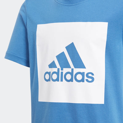 Singapore Adidas T-shirts & Tops Boys Essentials Logo Tee, Blue