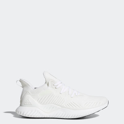Men Alphabounce Beyond Running Shoes, Cloud White/Silver Metallic