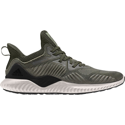 Men Alphabounce Beyond Running Shoes, Night Cargo/Core Black/Tech Beige