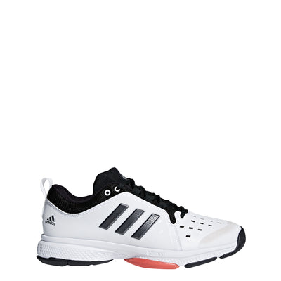 Men Barricade Classic Bounce Tennis Shoes, White/Black