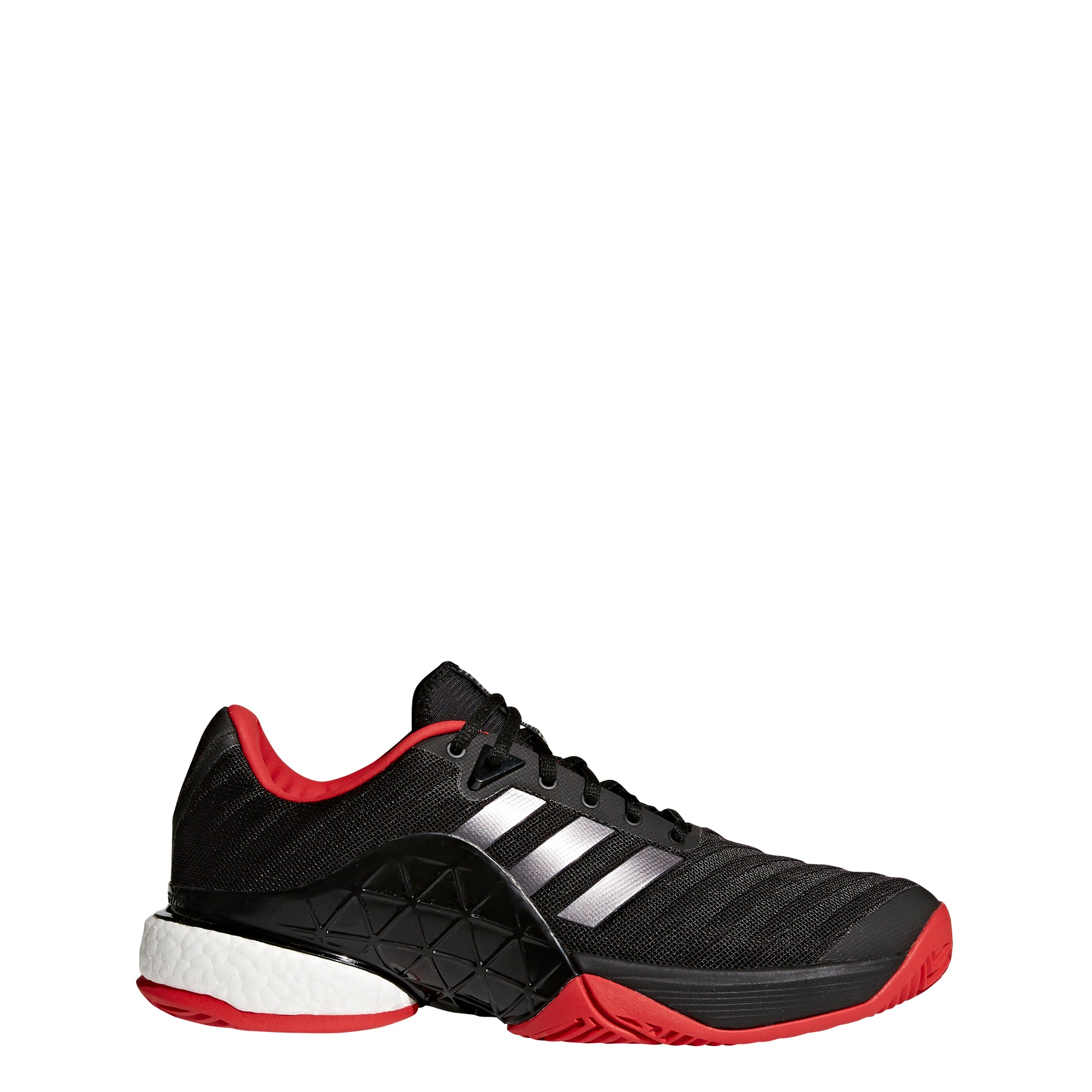 the best attitude 784d4 538d0 Buy adidas Men Barricade 2018 Boost Tennis Shoes, Black Red Online in  Singapore   Royal Sporting House