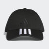 Unisex Six-Panel 3-Stripes Cap