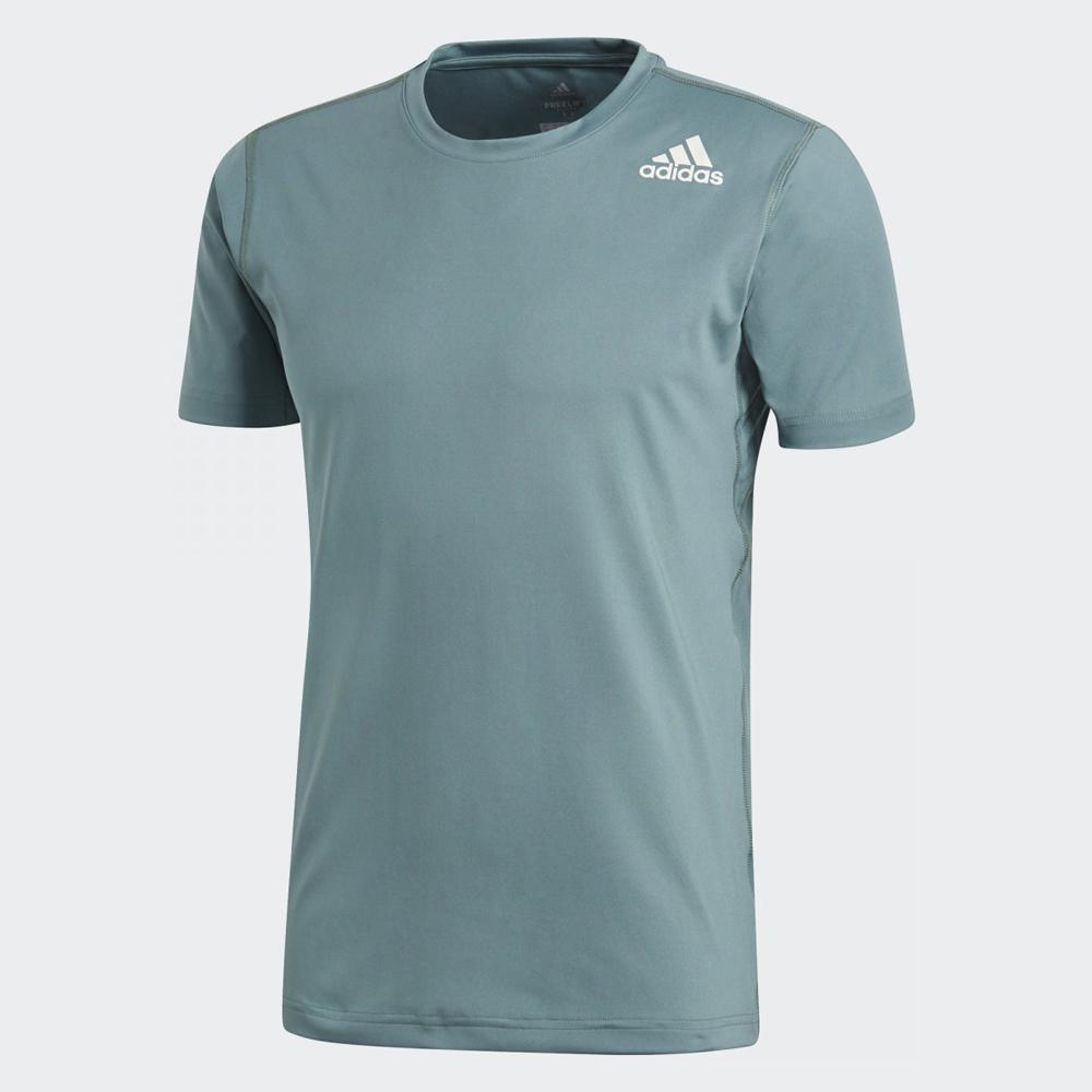 90147ba2a Buy adidas Men Freelift Climalite Fitted Tee, Raw Green Online in Singapore  | Royal Sporting House