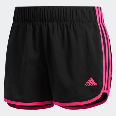 Singapore adidas Women M10 Shorts, Black/Shock pink