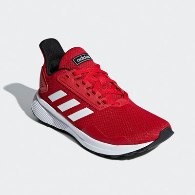 Singapore adidas Kid's Doramo Running Shoes, Scarlet/Ftwr White/Core Black