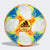 Conext19 Mini Ball, White/Solar Yellow/Solar Red/Blue