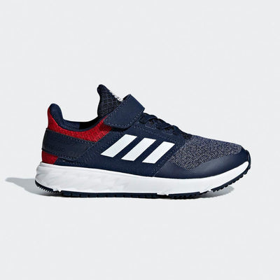 Kid's Forta Faito Running Shoes, Collegiate Navy/Ftwr White/Scarlet