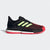 Singapore adidas Men's SoleCourt Boost Tennis Shoes, Core Black/Hi-res Yellow/Shock Red