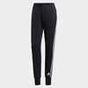 Singapore adidas Women's Must Haves 3-Stripes French Terry Pants, Black/White