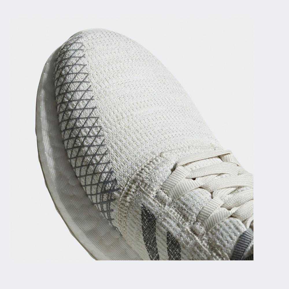 pretty nice a5909 1386c Women s Pureboost Go Running Shoes, Non-Dyed Grey Three F17 Raw White