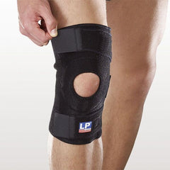 Singapore LP Support Support Unisex Open Patella Knee Support, Black