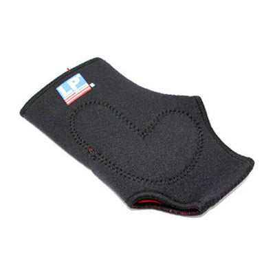 Unisex Ankle Support with Silicon Pad, Black