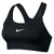 Singapore Nike Women Classic Pad Sports Bra, Black/White