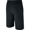 Boys Sportswear Jersey Shorts, Black/White