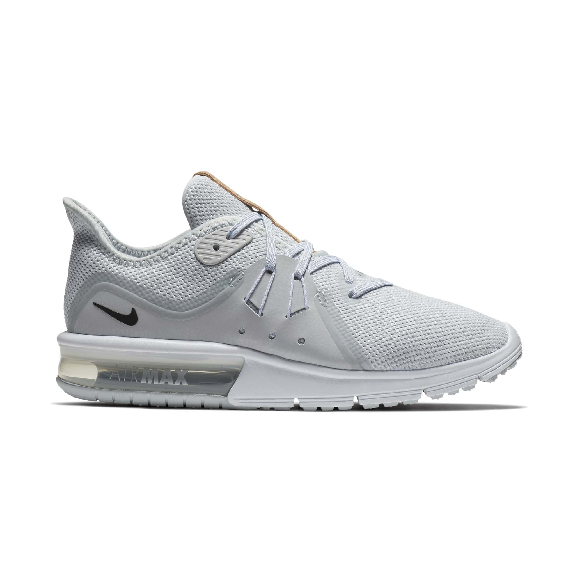 Nike Air Max Sequent 3 Pure Platinum/Black/White Womens Running 2018 ALL NEW
