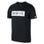 Men DB Don't Quit Dry Tee, Black/White