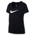 Singapore Nike Women Dry Dri-Fit Shorts Sleeve Scoop 2 Tee, Black