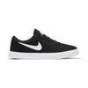 Singapore Nike Lifestyle Sneakers Boys Skateboarding Check Canvas Shoe, Black/White