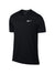 Men Nikecourt Dry Team Top, Black/White