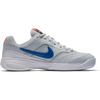Women Nikecourt Lite Tennis Shoes, Pure Platinum/Blue Nebula-Black-Hot Lava