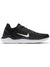 Women Free Run 2018 Running Shoes, Black/White