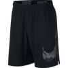 Men Flex Woven Graphix Shorts, Black/White
