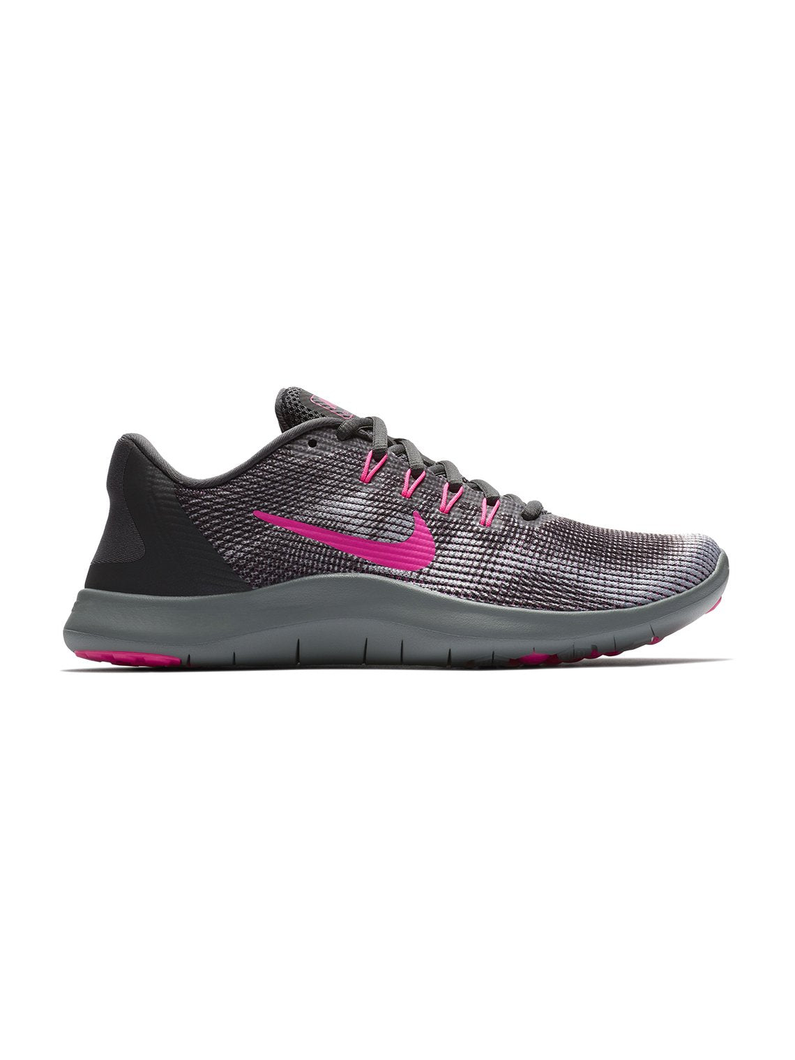 separation shoes fa1a4 3208b Flex 2018 Running Shoes, Anthracite Hyper Pink Wolf Grey. Nike Flex 2018  Running Shoes ...
