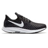 Women Air Zoom Pegasus 35 Running Shoes, Black/White/Gunsmoke/Oil Grey