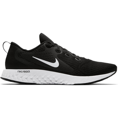 Men Legend React Running Shoe, Black/White