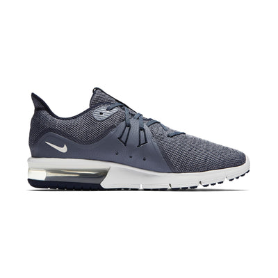 Men Air Max Sequent 3 Running Shoe, Obsidian/Summit White/Dark Sky Blue