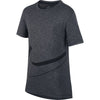 BoysHyper Dry Breathe Gfx Short Sleeve Top, Black/Cool Grey