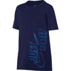Singapore Nike T-shirts & Tops Boys Dry Legacy Gfx Short Sleeve Top, Blue Void/Blue Hero