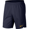 Men Nikecourt Flex Ace Shorts, Blackened Blue/Orange Peel