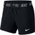 Women Dry Attack Training Shorts, Black/White