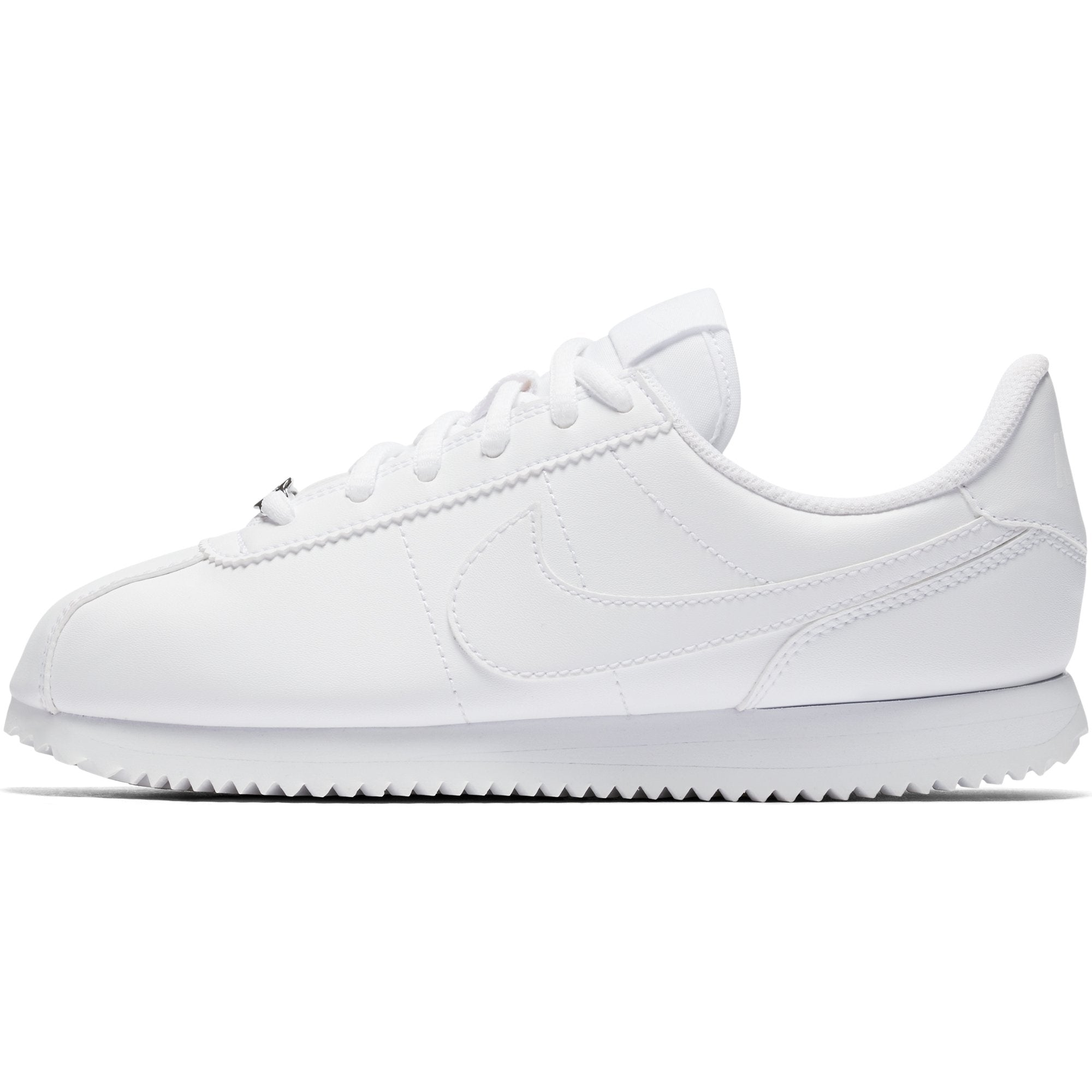 new concept cf692 d10a5 Singapore Nike Running Shoes Boys Cortez Basic SL Running Shoe, White