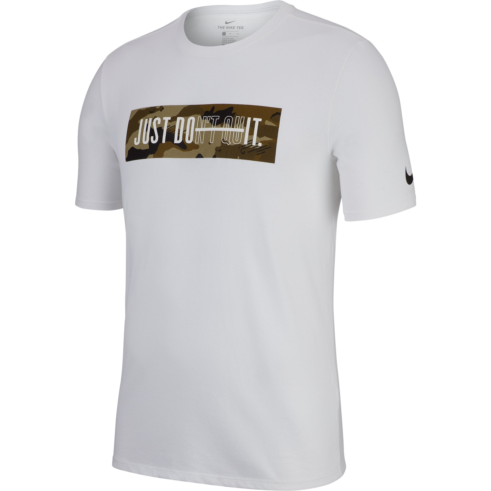 6f7a3cf1851cae Buy Nike Men Dry-Fit Just Don t Quit Graphic Short Sleeve Tee