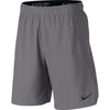 Men Flex Woven Training Shorts, Gun Smoke/Black