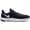 Men Quest Running Shoe, Obsidian/White/Midnight Navy/Wolf Grey