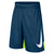 Boys Dry Basketball Shorts, Blue Force/Volt/White