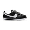 Boys Cortez Basic Pre-School Shoes, Black/White