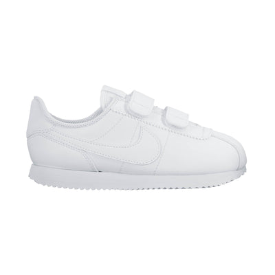 Singapore NIKE Running Shoes Boys Cortez Basic Pre-School Shoes, White