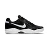 Men Air Zoom Resistance Tennis Shoes, Black/White