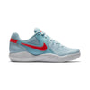 Women Air Zoom Resistance Tennis Shoes, Topaz Mist/Bright Crimson/Still Blue